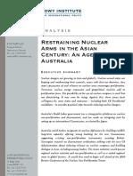 Medcalf, Restraining Nuclear Arms[1]