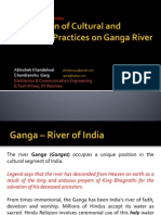 Implication of Cultural and Religious Practices on Ganga
