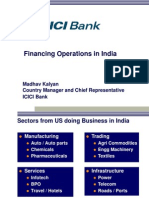 Session 4-Financing Operations in India