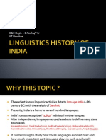 Linguistics History of India