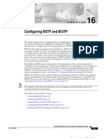 Cisco - Configuring RSTP and MSTP