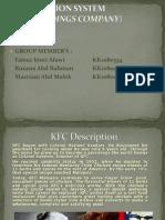 Information System (Kfc Holdings)