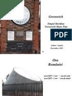 Greenwich GMT, London