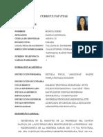Curriculum Vitae Monica