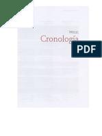 Hegel, G. W. F. - Cronología-Bibliografía