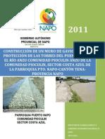 PROY. MURO DE GAVIONES RÍO ANZU