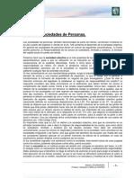 Lectura 8 - Sociedades de Personas