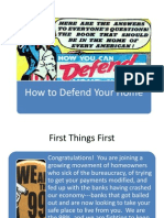 How to Defend Your Home