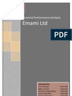 FAM - Emami Ltd -Financial Analysis Report