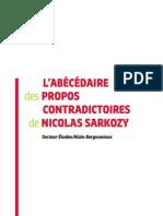 L'abécédaire des propos contradictoires de Nicolas Sarkozy