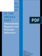 Building Regional Security in the Middl