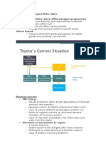 Case 2 10 Nov Toyota Motor Sales Hatice