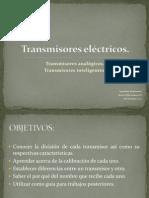 Transmisores eléctricos