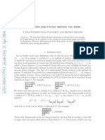 T. Kyle Petersen, Pavlo Pylyavskyy and Brendon Rhoades- Promotion and cyclic sieving via webs