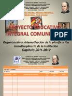 Coordinacion de Proyectos Eti 2011-2012