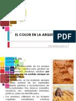 El Color en La Arquitectura