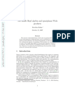 Dorothea Bahns- The shuffle Hopf algebra and quasiplanar Wick products