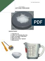 3842828 How to Make Acetone Peroxide