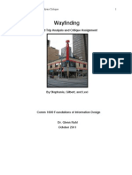 Wayfinding Analysis - Art Central - Calgary Albert