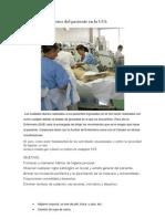 Los Cuidados Diarios Del Paciente en La UCI