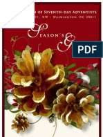 First Church of Seventh-day Adventists 2011 Holiday Bulletin