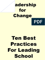 Leadership for Change