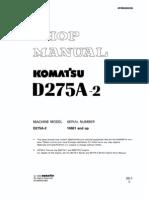 D275A-2 up Shop Manual