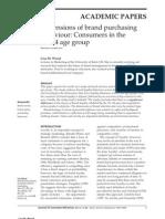 Brand Purchasing Behaviour