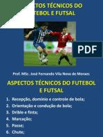 8702454d66eec Aula 4 - aspectos técnicos do futebol e futsal
