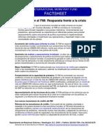 Cambios en El FMI Respuesta Frente a La Crisis