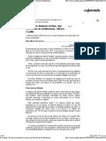 La Jornada_ Mi Obra No Denuncia El Islam, Sino Toda Forma de Totalitarismo Alberto Castillo