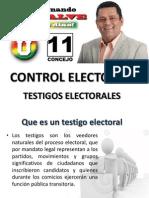 Capacitacion Testigos Electorales