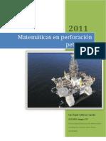 ENSAYO Matemáticas en perforación petrolera