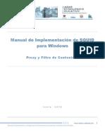 Manual Squid 2.7 Proxy Iltro Contenido Windows