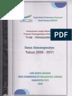 PJM 2009-20011 Genengmulyo Juwan