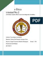 Limites Éticos en la Investigación Científica