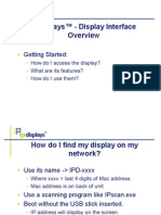Display Overview Presentation v1