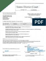 DeJaz1 Seizure Warrant