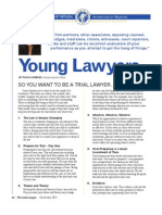 Young Lawyers Column