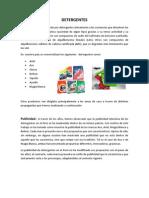 4.Analisis de Mercado- Detergentes
