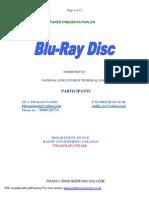 Blu-ray Disc- Raghu Engg Coll