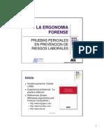 Ergonomia Forense Chile 2007