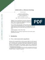 David Clark- Functoriality for the su3 Khovanov homology