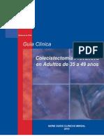 colecistectomia preventiva