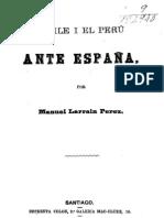 Chile i el Perú ante España. (1879)