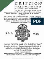 Descripcion Geographic A y Derrotero de La Region Austral Magallanica (1690)