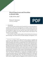 discovering aryan dravidain in british india