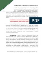 Carta dos indígenas da Terra Kayabi à Presidente Dilma Rousseff e outras autoridades sobre as hidrelétricas no rio Teles Pires