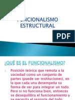 Funcionalismo estructural