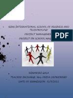 Project Management Final Assignment